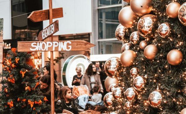 Weihnachtsshopping in der Millennium City