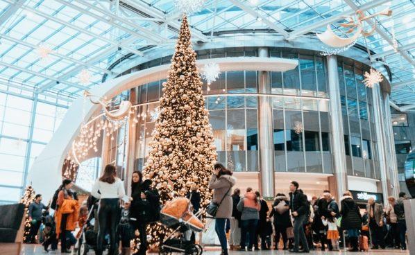 Weihnachtsdorf in der Millennium City