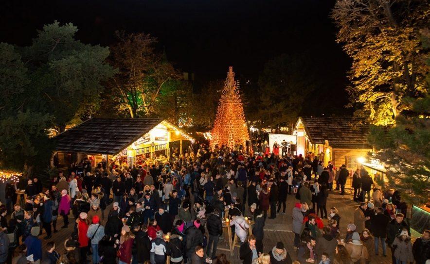 Weihnachtsdorf am Campus der Universität Wien