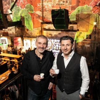 Von 10. bis zum 12. Jänner dreht sich in Ottakring alles um die Welt des Kaffees - Foto: VCF Veranstalter Günther Gapp und Günter Stölner
