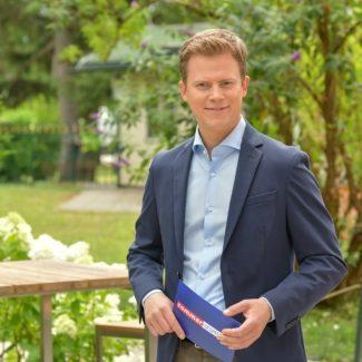 """Tobias Pötzelsberger - Leser des Magazins """"Der Österreichische Journalist"""" entschieden sich für den ORF-Anchor"""