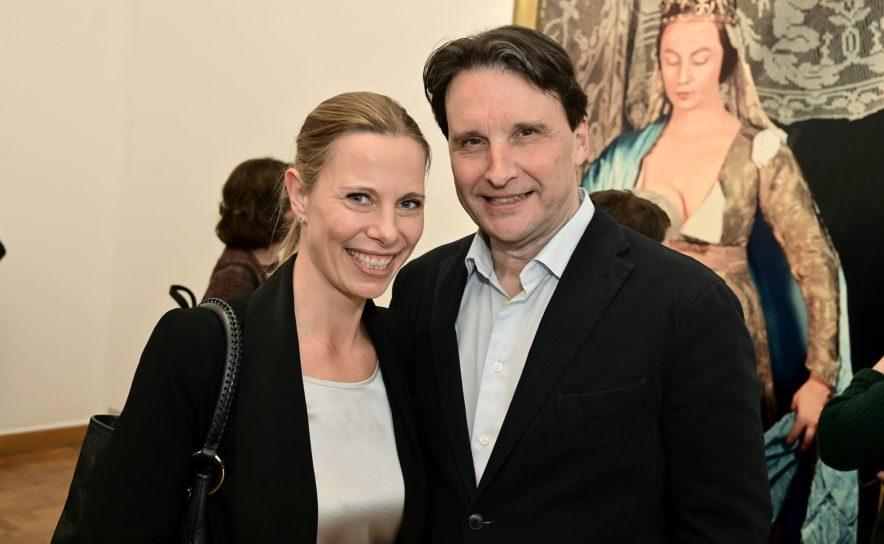 Gloria Hundsberger und Martin Traxl