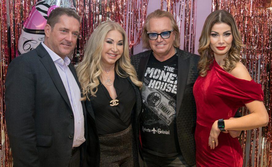 Markus Wischenbart, Carmen und Robert Geiss, Carmen Knor beim Beauty&Lifestyle Spa Opening