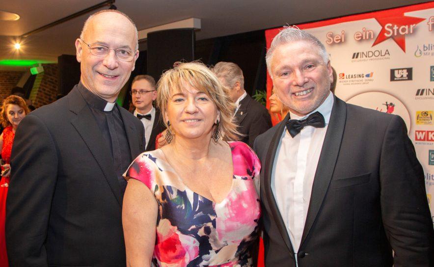 Toni Faber mit Gabi und Robert Schwenk