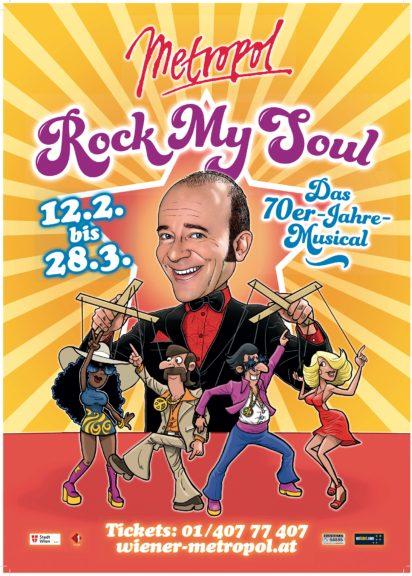 Rock my Soul im Wiener Metropol