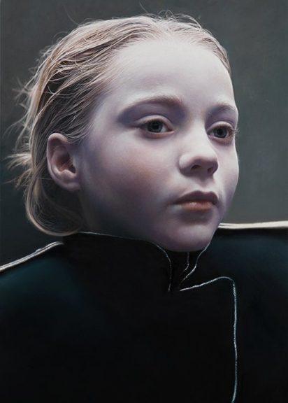 Gottfried Helnwein Werk The Murmur of the Innocents 74 zu sehen in der Hofburg