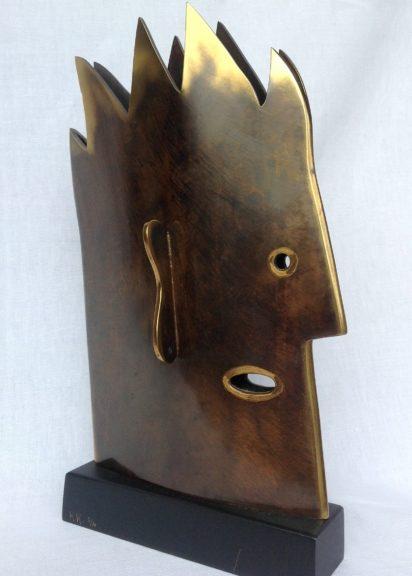 Kiki Kogelnik Bronze - Ohrenmensch