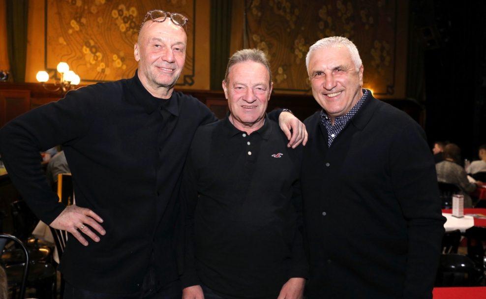 Reinhard Kienast, Heini Strasser und Hans Krankl besuchten Chill amal, Fessor