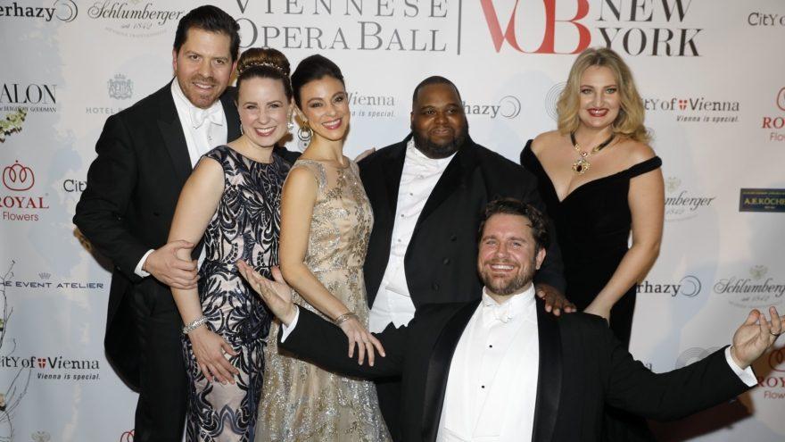 Künstler des Viennese Opera Balls in New York