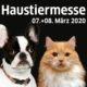 Haustiermesse Wien 2020 findet in der Marx Halle statt