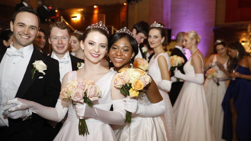 Debütanten am Viennese Opera Ball in New York
