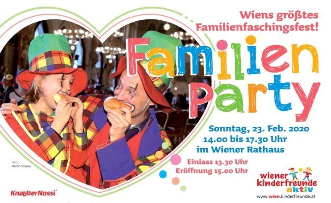 Familienfaschingsfest 2020 im Wiener Rathaus