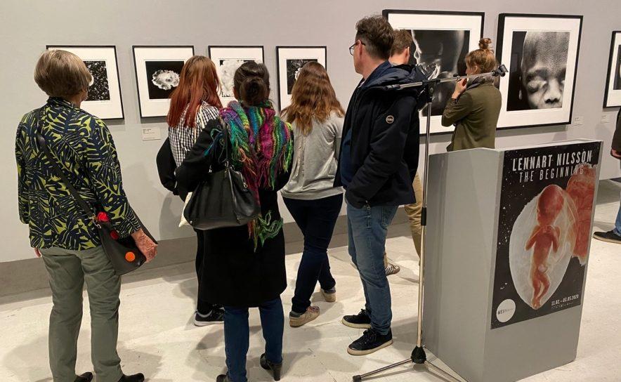 """WestLicht. Schauplatz für Fotografie Ausstellungseröffnung """"Lennart Nilsson - The Beginning"""""""