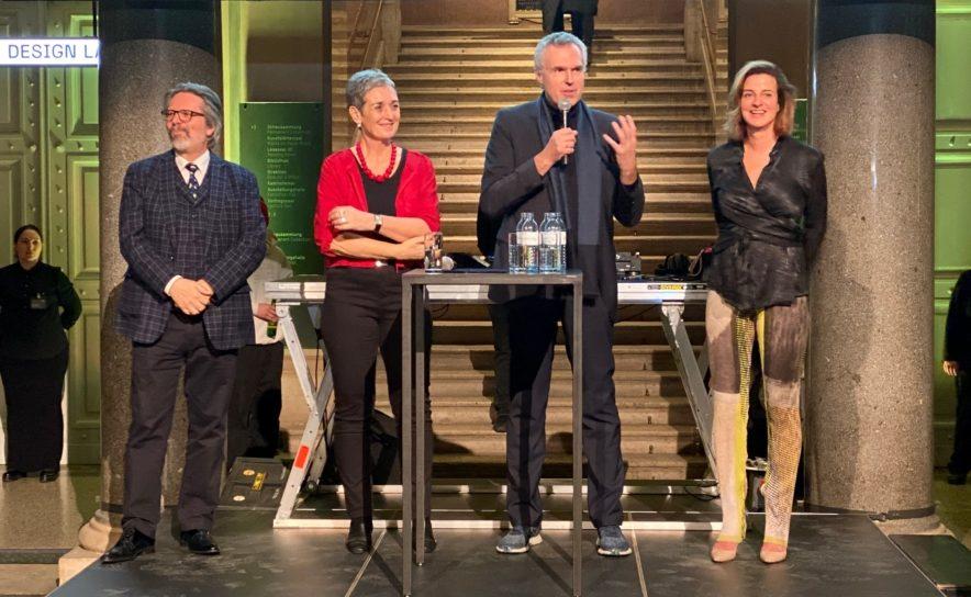 Gerald Bast, Ulrike Lunacek, Christoph Thun-Hohenstein, Ulrike Tschabitzer-Handler
