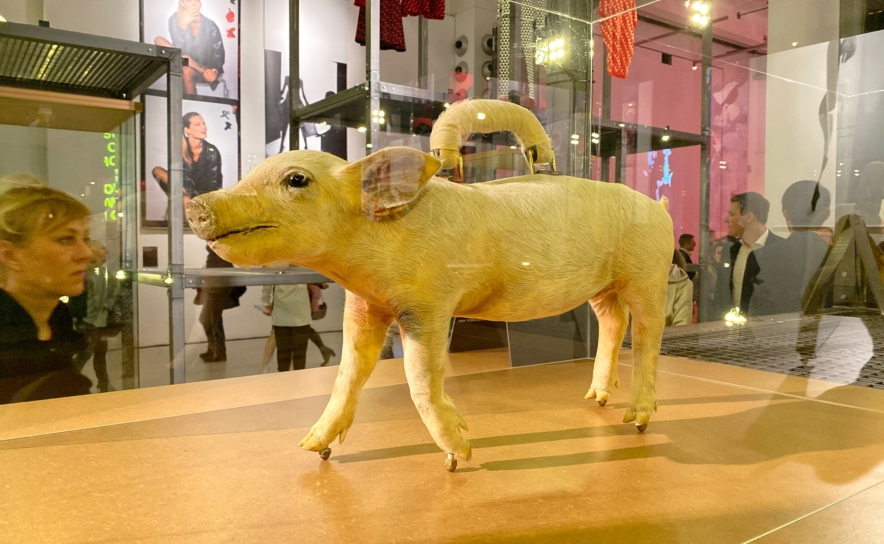 Schweinchen Handtasche von Caron Christian Poell