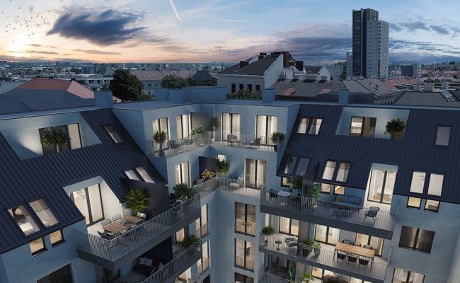 Bauträger Winegg verkauft Eigentumswohungen in Wien Simmering
