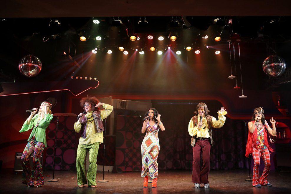 """Rock my Soul – Das Swinging 70's Musical Hauptdarsteller in """"Rock my Soul"""" im Metropol"""