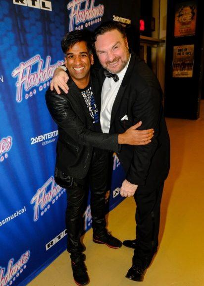 Ramesh Nair und Martin Leutgeb besuchten Premiere von Flashdance - Das Musical