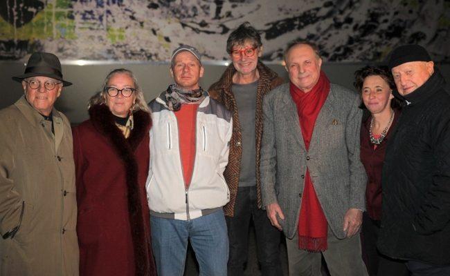 Vernissage mit Christian Eisenberger für das MMC Haus in Liesing