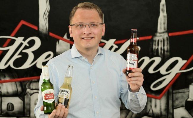 Anheuser-Busch Country Manager Lennart Kübler