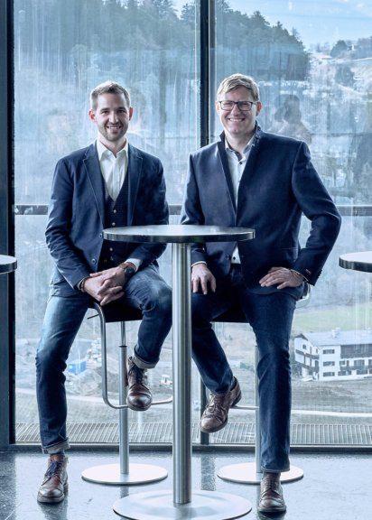 Manuel Lampe und Rainer Hammerle schließen sich zusammen