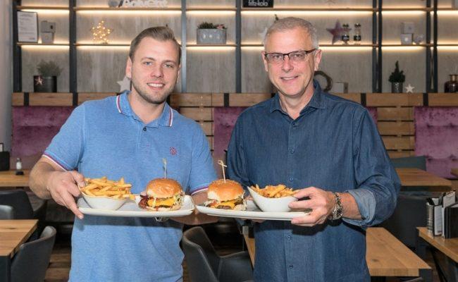 Lukas Tauber und Thomas Tauber von Le Burger