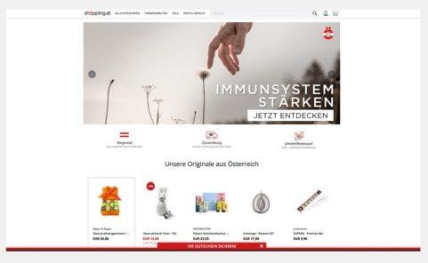 Online Marktplatz shöpping.at der Österreichischen Post
