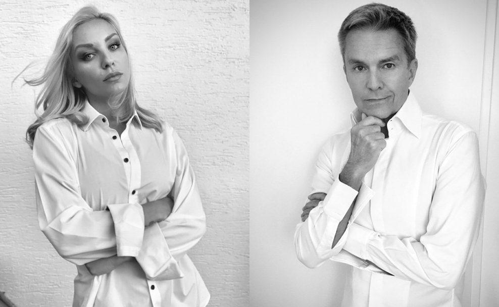 Lidia Baich und Alfons Haider spenden ihr Gesicht für Multiple-Sklerose-Tag am 30. Mai