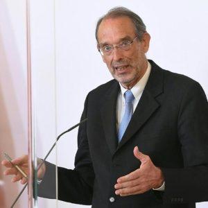 """Bildungsminister Heinz Faßmann zum Thema """"Etappenplan für die Schulöffnung"""" in Wien"""