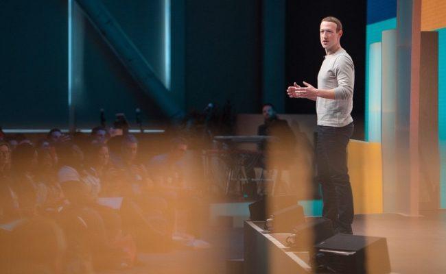 CEO Mark Zuckerberg beim Facebook Communities Summit 2019