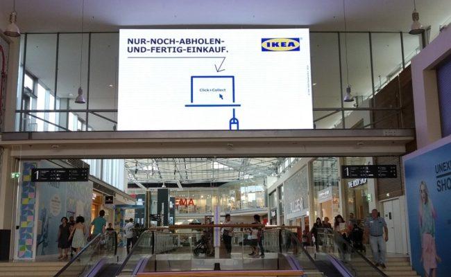 DOOH-Display im Donauzentrum Wien