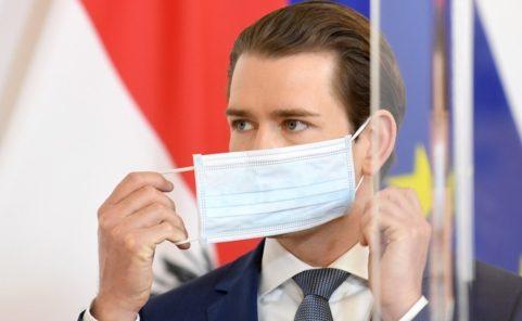 Sebastian Kurz überlegt Maskenpflicht für Gastro-Personal