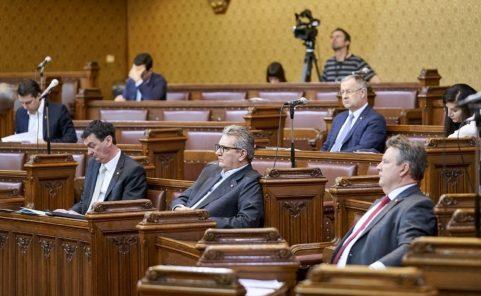 Gemeinderatssitzung im Wiener Rathaus in Zeiten von Corona-Krise
