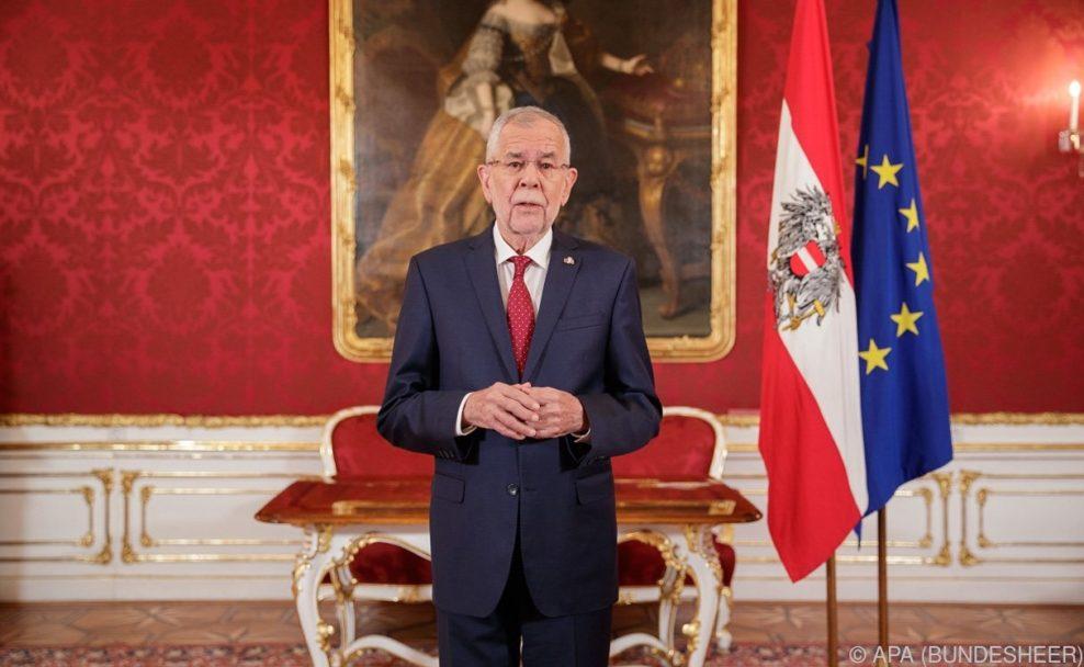 Bundespräsident zog Vergleich mit Ibiza-Skandal und warnte vor Führerfiguren.