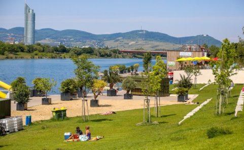Copa Beach vor der Donau-City hat die legendäre Copa Cagrana abgelöst