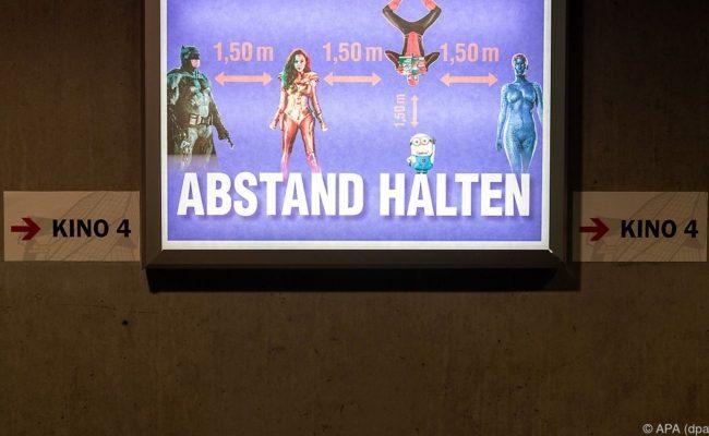 Kinos dürfen Besucher unter Abstandsregeln wieder begrüßen