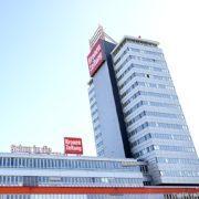 Die Zentrale der Kronen Zeitung in Wien Döbling