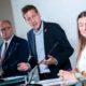 """Budgetsprecher der Oppositionsparteien bei einer Pressekonferenz zu """"türkis-grünem Fake-Budget"""""""
