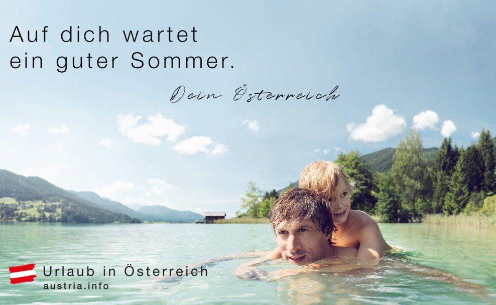 """Werbe-Sujet """"Auf Dich wartet ein guter Sommer"""" soll Urlauber aus Deutschland anlocken"""