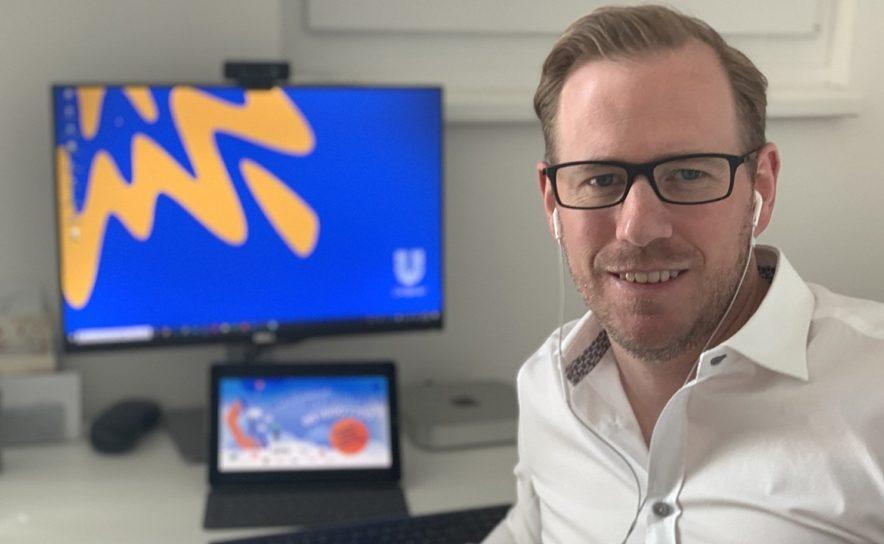 Nikolaus Huber steht bei Unilever Hilfsaktion am Telefon bereit