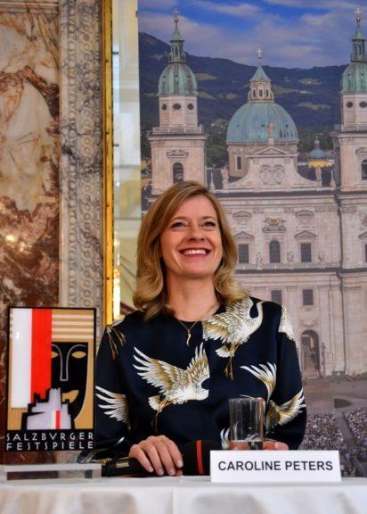 """Burgtheater-Schauspielerin Caroline Peters spielt im Sommer 2020 in Hugo von Hofmannsthals """"Jedermann"""" die Buhlschaft"""
