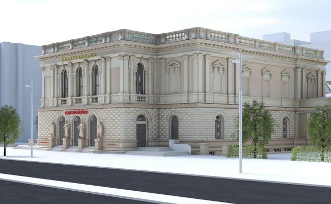 """""""Albertina modern"""" ist im Künstlerhaus am Karlsplatz untergebracht"""