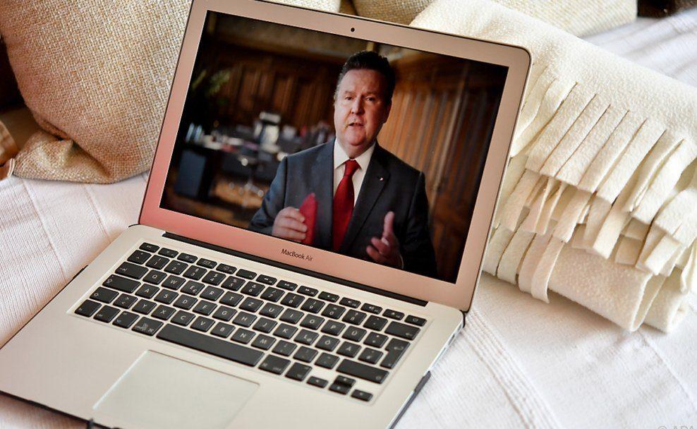 Michael Ludwig im Video der 1.Mai-Sendung der SPÖ am 1. Mai 2020