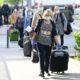 Ankunft des ersten Korridorzuges mit rumänischen Pflegerinnen am Flughafen in Wien-Schwechat