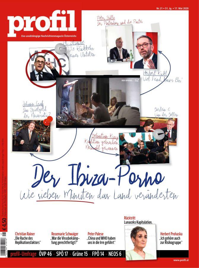 Ausgabe des Nachrichtenmagazins Profil vom 17. Mai 2020