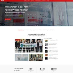 Noch mehr Klicks auf die Website der APA mit aktuellen Nachrichten der APA-Redaktion vor allen anderen