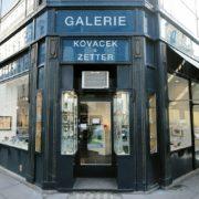 Die Galerie Kovacek & Zetter in der Wiener Innenstadt an der Adresse Stallburggasse 2