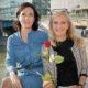 Nina Horowitz und ORF-Programmdirektorin Kathrin Zechner beim Pressegespräch am Donaukanal in Wien