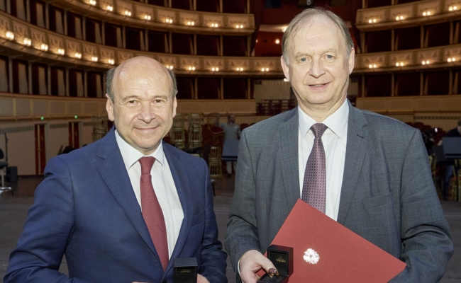 Dominique Meyer und Thomas Platzer zu Ehrenmitgliedern der Wiener Staatsoper ernannt