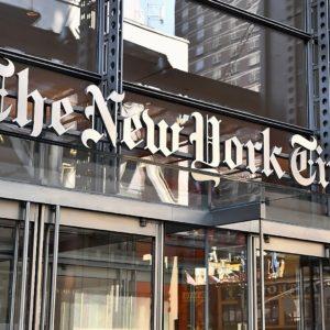 New York Times Gebäude in New York